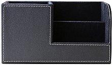 Lumanuby 1 Pcs Organiser Storage Boxes Leather Pen