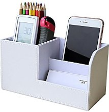 Lumanuby 1 Pcs Organiser Storage Boxes Leather Pen