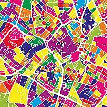 Lumartos, Birmingham UK Map Contemporary Home