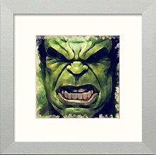 Lumartos, Hulk Contemporary Home Decor Wall Art