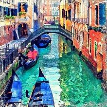 Lumartos, Italy Venice Canal Contemporary Home