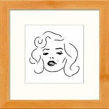 Lumartos, Marlyn Sketch Contemporary Home Decor