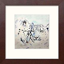 Lumartos, Snow Leopard Contemporary Home Decor