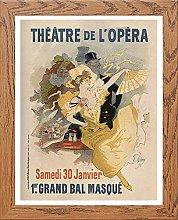 Lumartos, Vintage Poster Jules Cheret Contemporary