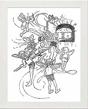 Lumartos, Vintage Poster King Oberon Contemporary