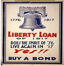 Lumartos, Vintage Poster Liberty Yes Contemporary