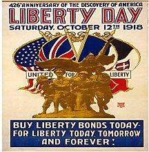 Lumartos, Vintage Poster Libertyday Contemporary