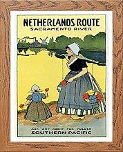 Lumartos, Vintage Poster Netherlands Contemporary