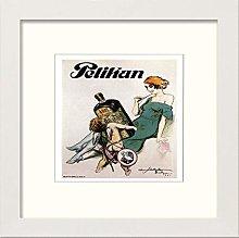 Lumartos, Vintage Poster Pelikan Contemporary Home