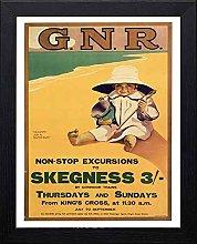 Lumartos, Vintage Poster Skegness Contemporary