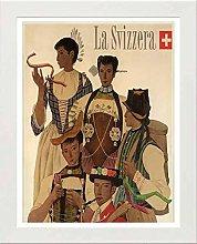 Lumartos, Vintage Poster Swiss Contemporary Home