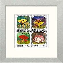 Lumartos, Vintage Stamps Contemporary Home Decor