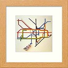 Lumartos, Vintage Tate Tube Poster Contemporary