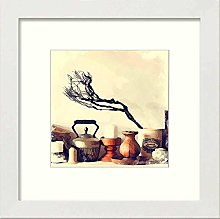 Lumartos, Vintage Teapot And Candle Contemporary