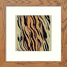 Lumartos, Vintage Tiger Print Contemporary Home