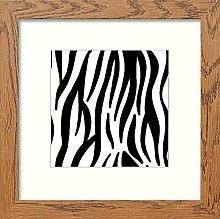 Lumartos, Vintage Zebra Print Contemporary Home