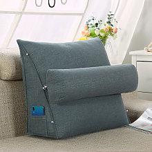 Lumbar Desk Cushion for Home Sofa Bed 45cm