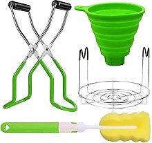 luminiu 4pcs Kitchen Set, Canning Jar Lifter +