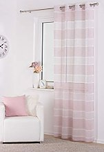 Lumino Curtain Pink
