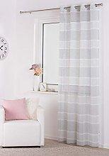 Lumino Curtain Silver