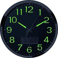 Luminous Wall Clock - 14'' Extra Large Wall