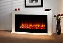 Lumley Electric Fireplace Fire Heater Heating Real