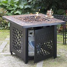 Lumpkins Propane Gas Fire Pit Table Sol 72 Outdoor