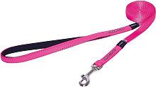 Luna Dog Lead (1.8m x 16mm) (Pink) - Rogz