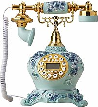 LUNAH Country Style Telephone Creative Resin Retro