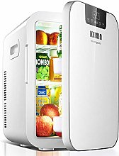 LUNAH Mini Car Fridge Freezer Refrigerators Cooler