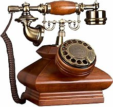 LUNAH Vintage Retro Antique Phone,Rotary dial disc