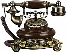 LUNAH Wired Retro vintage telephone, dial