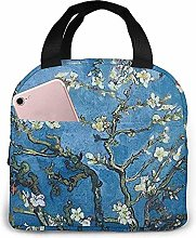 Lunch Bag - Almond Blossoms Tote Handbag Lunchbox