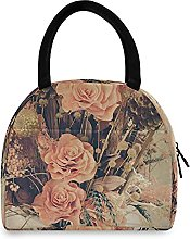 Lunch Bag, Beautiful Bouquet Flower Insulated