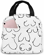 Lunch Bag Boobs The Breast Reusable Lunch Box