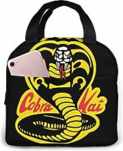 Lunch Bag Cobra Kai Insulated Durable Lunch Box