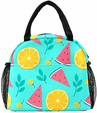 Lunch Bag Cooler Box with Pocket,Women Tote Bag