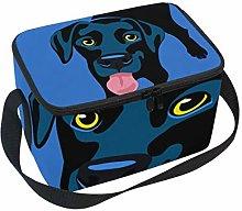 Lunch Bag Dog Black Labrador Retriever Cooler for