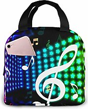 Lunch Bag Dreamlike Cool Music Insulated Lunch