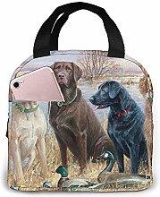Lunch Bag - Duck Hunting Labrador Retrievers Tote