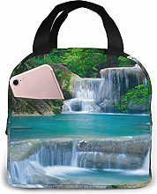 Lunch Bag Forest Waterfall Water Insulated Lunch