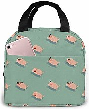 Lunch Bag Funny Pigs Reusable Lunch Box Lunch