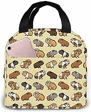 Lunch Bag Guinea Pig Reusable Lunch Box Lunch
