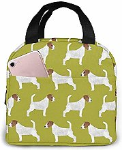 Lunch Bag Jack Russell Terrier Reusable Lunch Box
