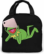 Lunch Bag Kermit The Frog Insulated Durable Lunch