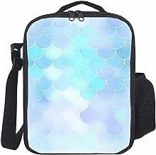 Lunch Bag Kids Lunch Box Isoliert Dreamy Blue und
