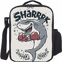 Lunch Bag Kids Lunch Rucksack Cool Boxing Shark
