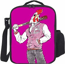 Lunch Bag Kids Lunch Rucksack Cool Chiken Lunch
