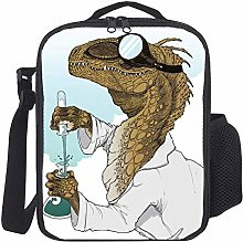 Lunch Bag Kids Lunch Rucksack Cool Dinosaur Doctor