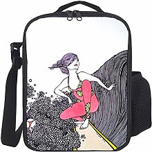 Lunch Bag Kids Lunch Rucksack Cool Fahsion Frauen